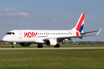F-HBLC - Air France - Hop! Embraer ERJ-190 (190-100)