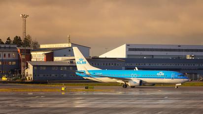 PH-BXF - KLM Boeing 737-800