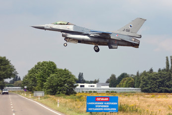 J-511 - Netherlands - Air Force General Dynamics F-16A Fighting Falcon