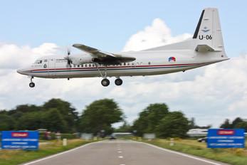 U-06 - Netherlands - Air Force Fokker 50