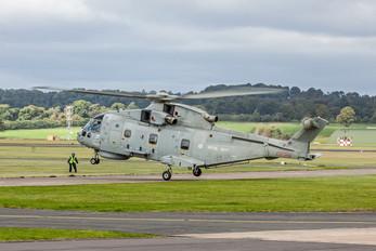 ZH834 - Royal Navy Agusta Westland AW101 111 Merlin HM.1