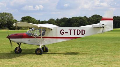 G-TTDD - Private Zenith - Zenair CH 701 STOL