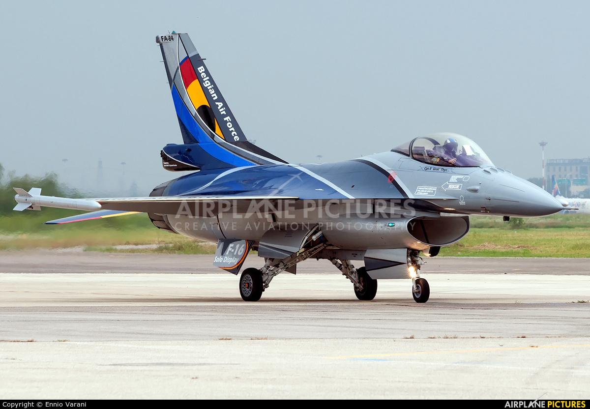 Belgium - Air Force FA-84 aircraft at Verona - Villafranca
