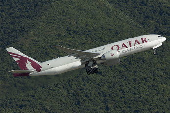 A7-BFB - Qatar Airways Cargo Boeing 777-200F