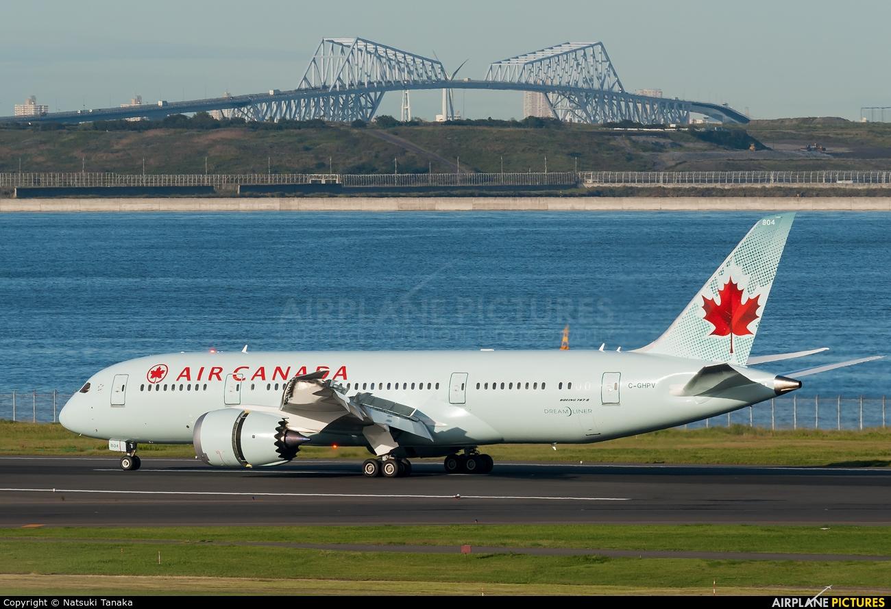 Air Canada C-GHPV aircraft at Tokyo - Haneda Intl