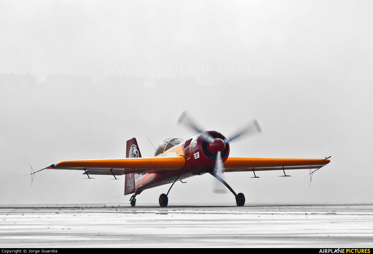 Bravo3/Repsol Team EC-HPD aircraft at Madrid - Torrejon