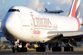 OO-THD - Emirates Sky Cargo Boeing 747-400F, ERF
