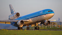PH-KCF - KLM McDonnell Douglas MD-11 aircraft
