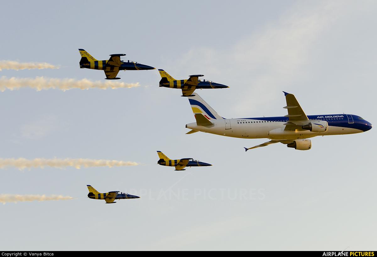 Air Moldova ER-AXV aircraft at Chişinău Intl