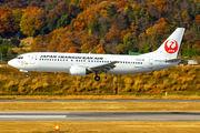 JA8938 - JAL - Japan Transocean Air Boeing 737-400 aircraft