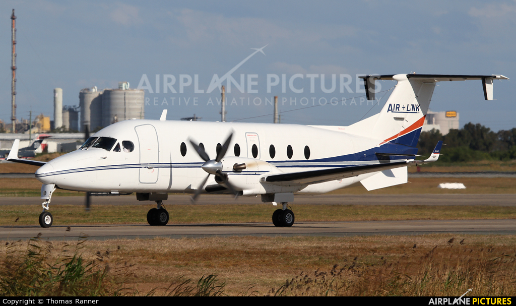 Air Link VH-RUE aircraft at Brisbane, QLD