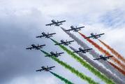 "MM54551 - Italy - Air Force ""Frecce Tricolori"" Aermacchi MB-339-A/PAN aircraft"