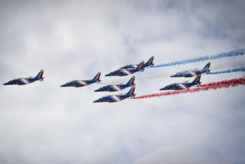 """E62 - France - Air Force """"Patrouille de France"""" Dassault - Dornier Alpha Jet E"""