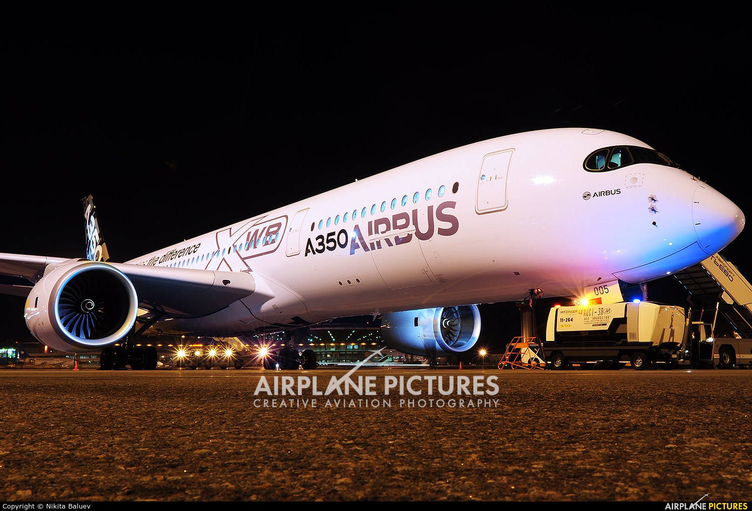 Airbus Industrie F-WWYB aircraft at Moscow - Sheremetyevo
