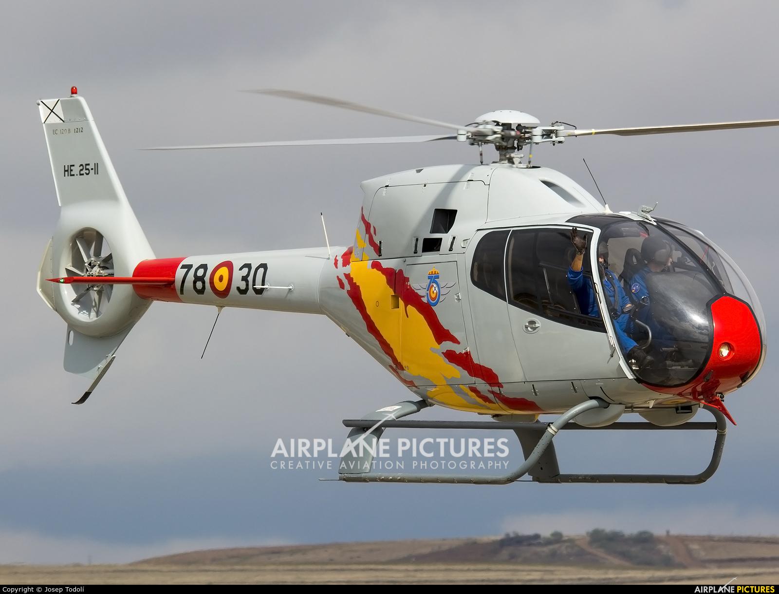 Spain - Air Force: Patrulla ASPA HE.25-11 aircraft at Madrid - Torrejon