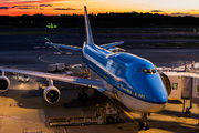 PH-BFW - KLM Boeing 747-400 aircraft