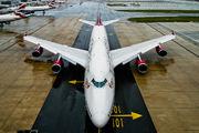 - - Virgin Atlantic Boeing 747-400 aircraft
