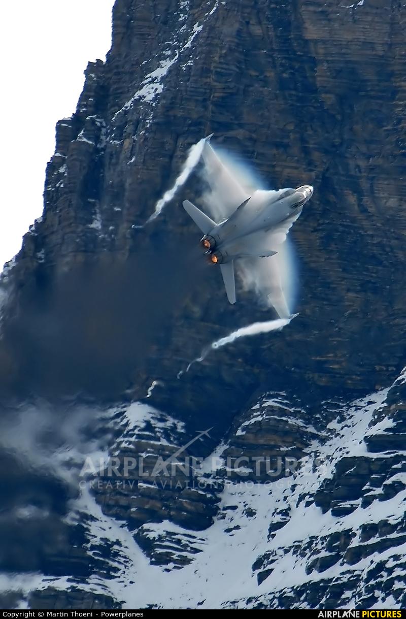 Switzerland - Air Force J-5005 aircraft at Axalp - Ebenfluh Range