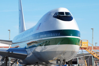 N486EV - Evergreen International Boeing 747-200SF