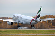 A6-EKY - Emirates Airlines Airbus A330-200 aircraft