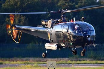 M-3 - Belgium - Navy Aerospatiale SA-319B Alouette III