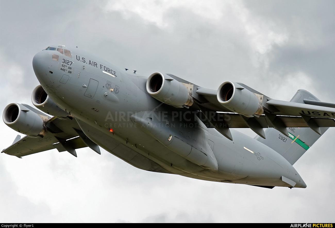 USA - Air Force 03-3127 aircraft at Mildenhall