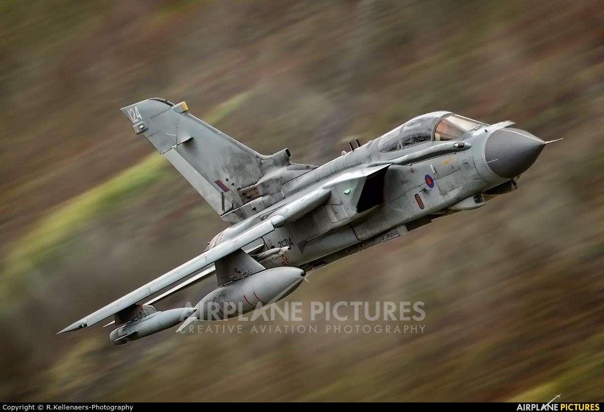 Royal Air Force ZG714 aircraft at Lake District - LFA