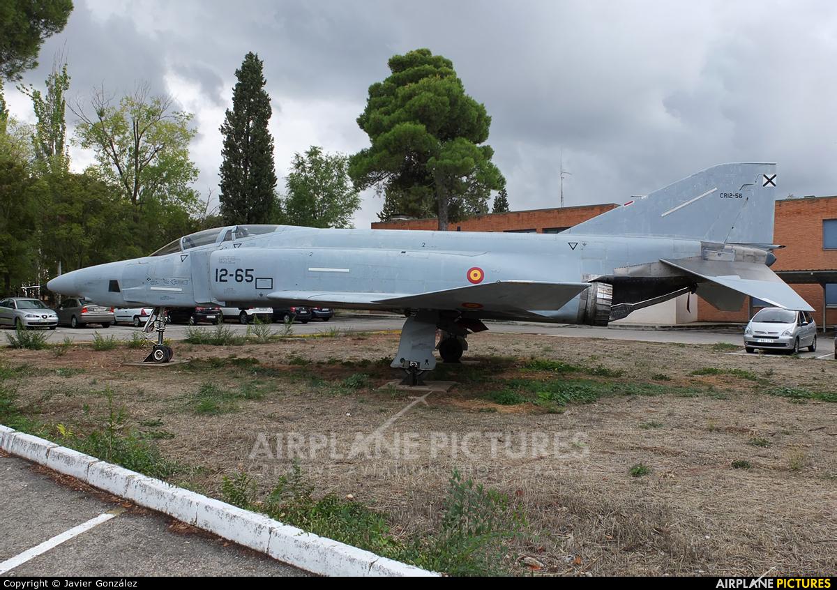 Spain - Air Force CR.12-56 aircraft at Madrid - Torrejon