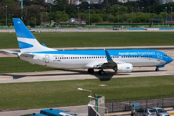 LV-FRK - Aerolineas Argentinas Boeing 737-800