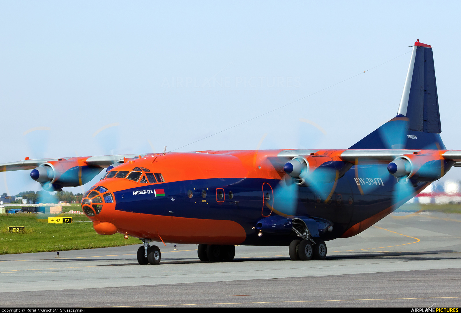 Ruby Star Air Enterprise EW-394TI aircraft at Warsaw - Frederic Chopin
