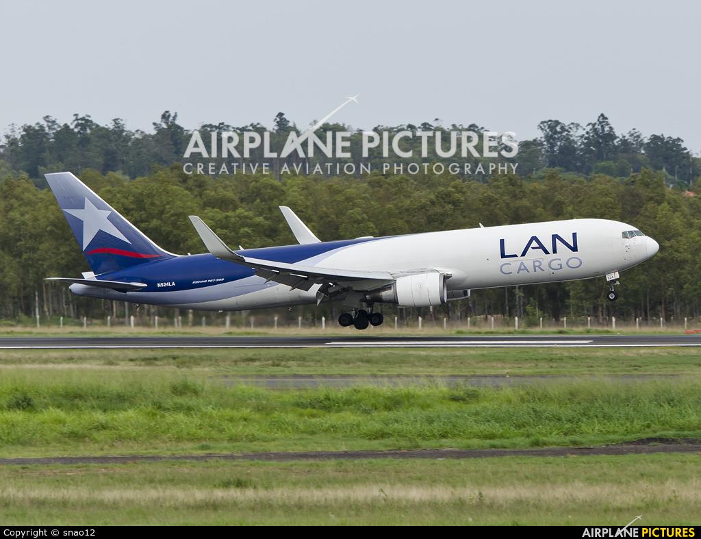 LAN Cargo N524LA aircraft at Asuncion - Silvio Pettirossi Intl