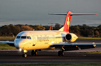 HB-JVI - Helvetic Airways Fokker 100