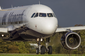 G-ZBAR - Monarch Airlines Airbus A320