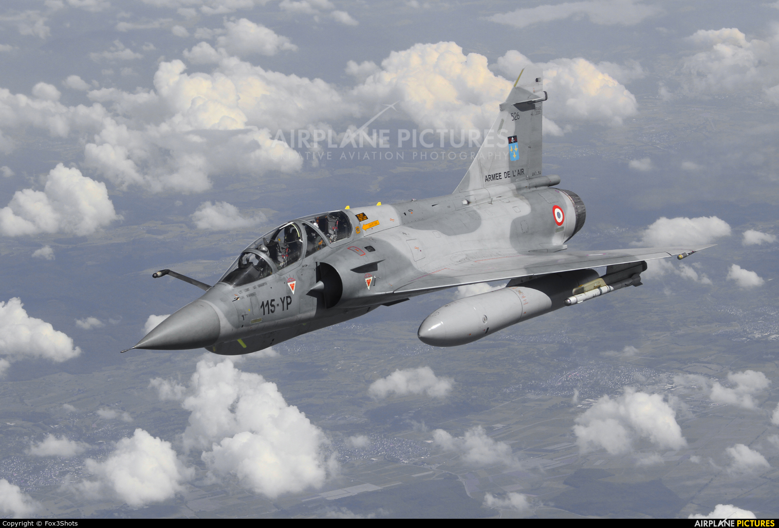 France - Air Force 115-YP aircraft at In Flight - France