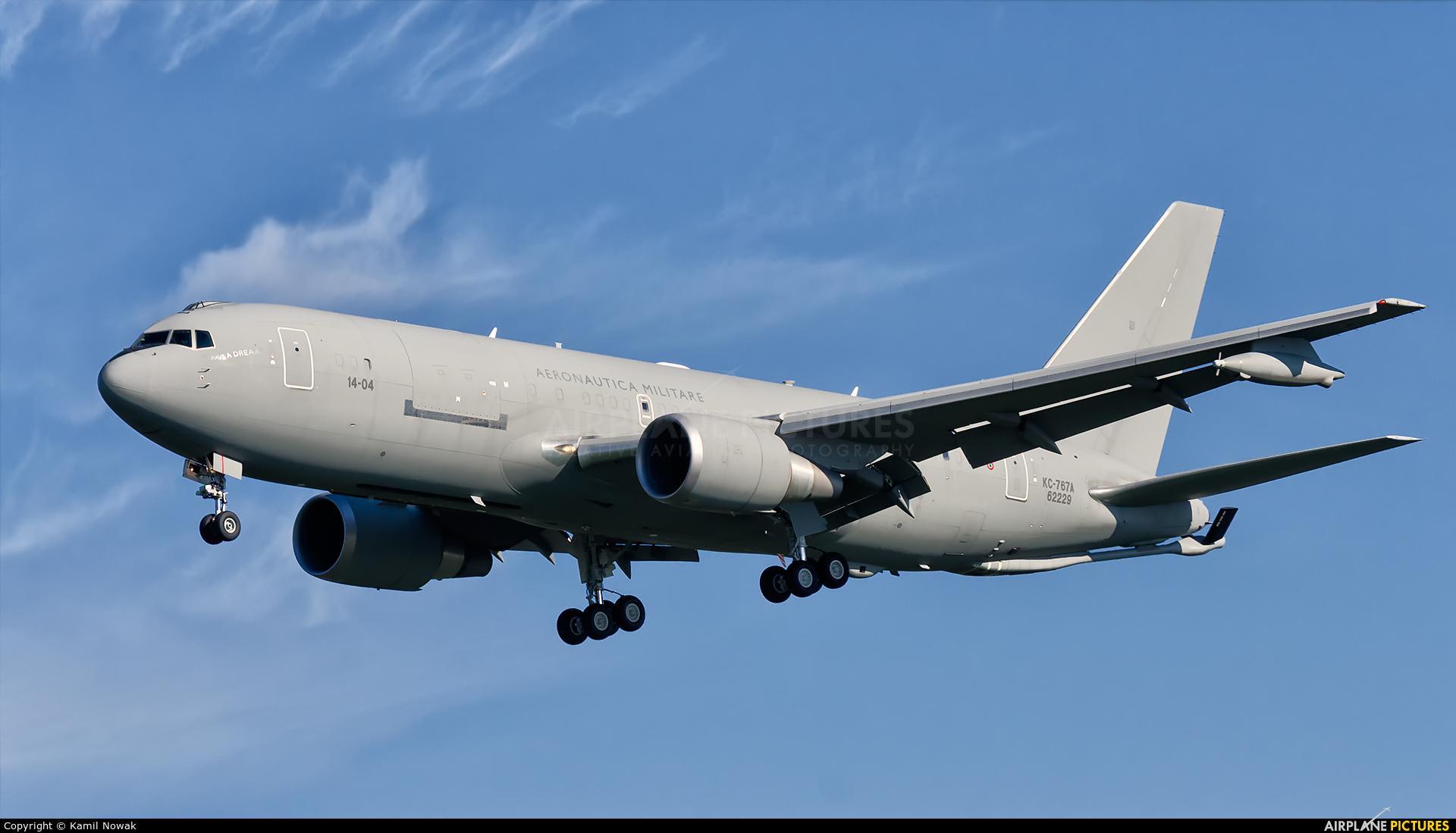 Italy - Air Force MM62229 aircraft at Kraków - John Paul II Intl