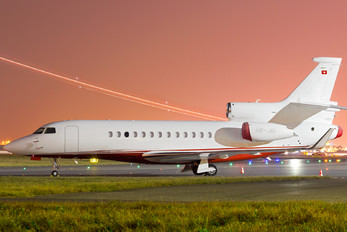 HB-JGI - Rabbit Air Dassault Falcon 7X