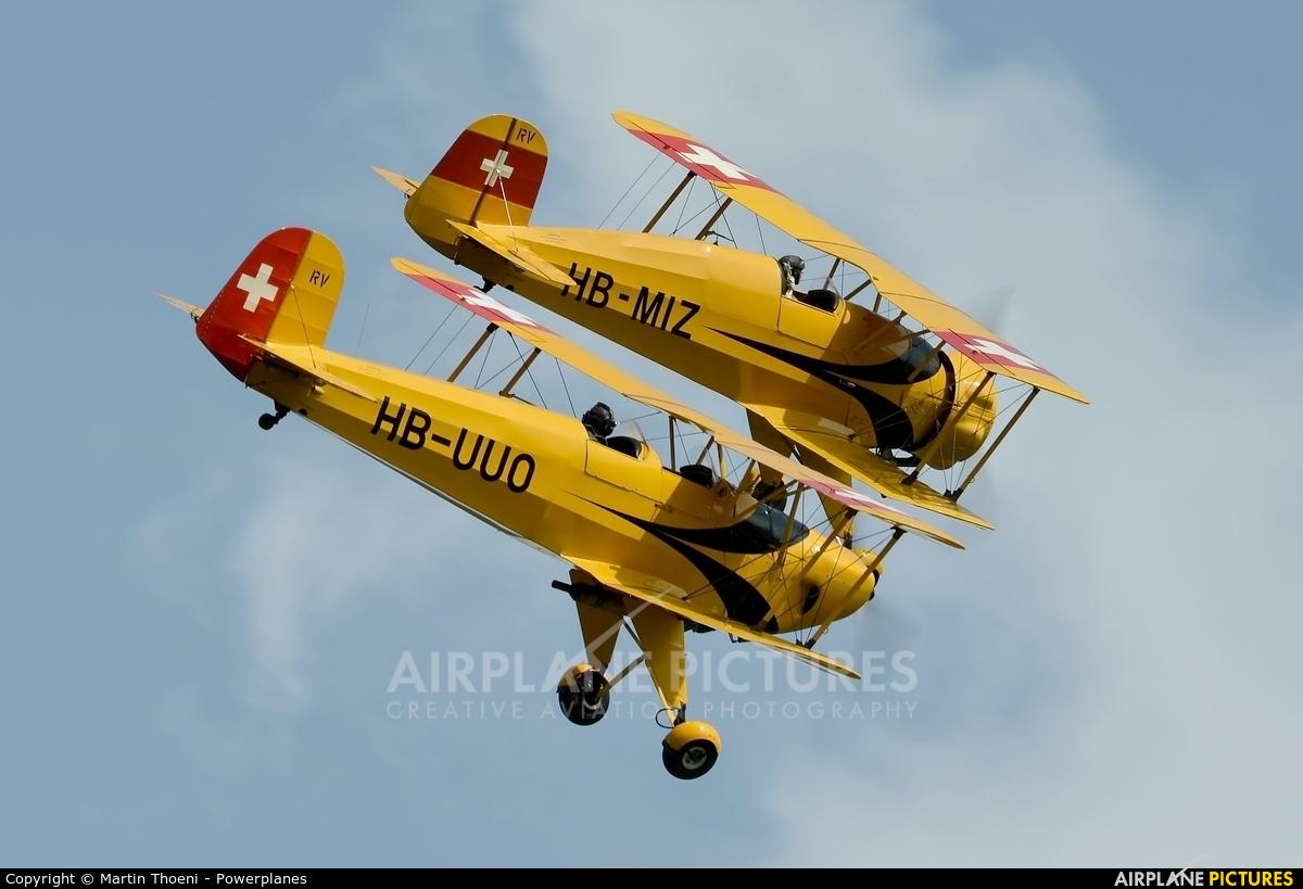 Private HB-MIZ aircraft at Locarno