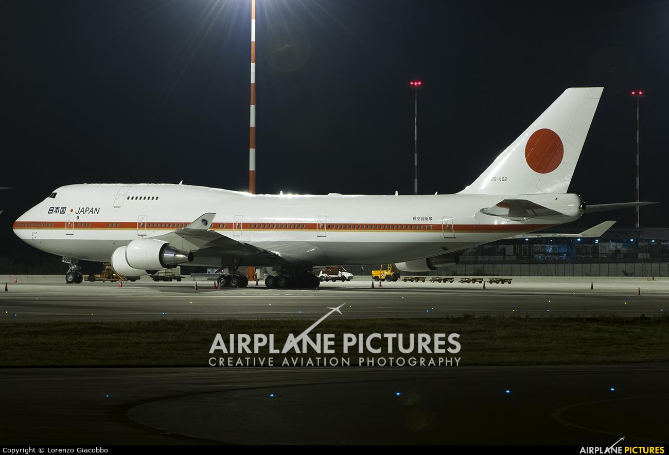 Japan - Air Self Defence Force 20-1102 aircraft at Milan - Malpensa