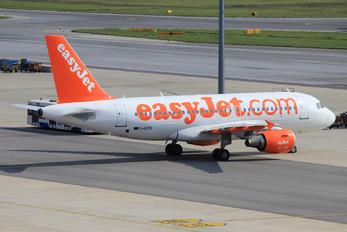 G-EZIS - easyJet Airbus A319