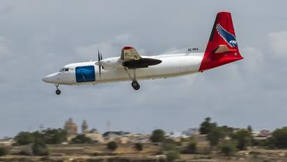 SE-MFA - AmaPola Flyg Fokker 50F