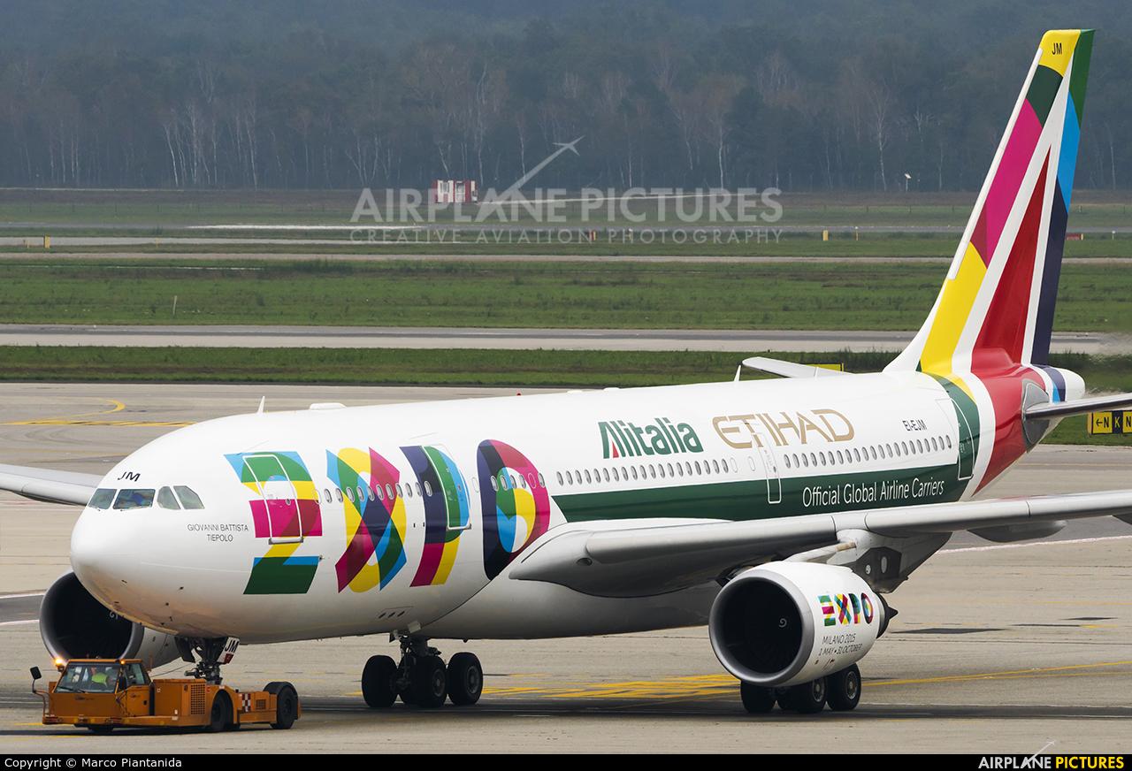Alitalia EI-EJM aircraft at Milan - Malpensa