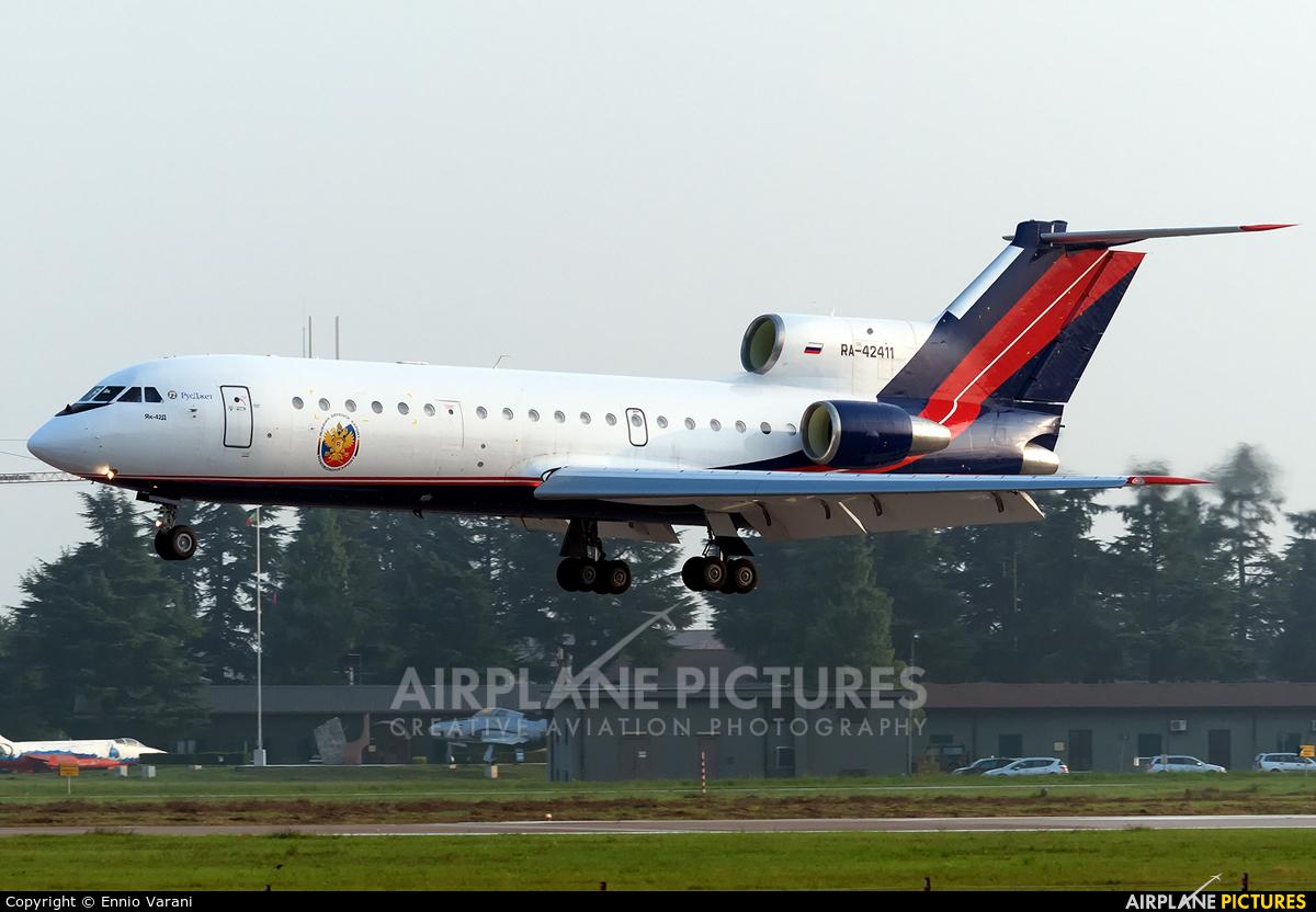 Rusjet Aircompany RA-42411 aircraft at Verona - Villafranca