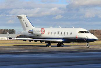LN-SUN - Sundt Air Canadair CL-600 Challenger 604