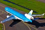 PH-KCE - KLM McDonnell Douglas MD-11 aircraft