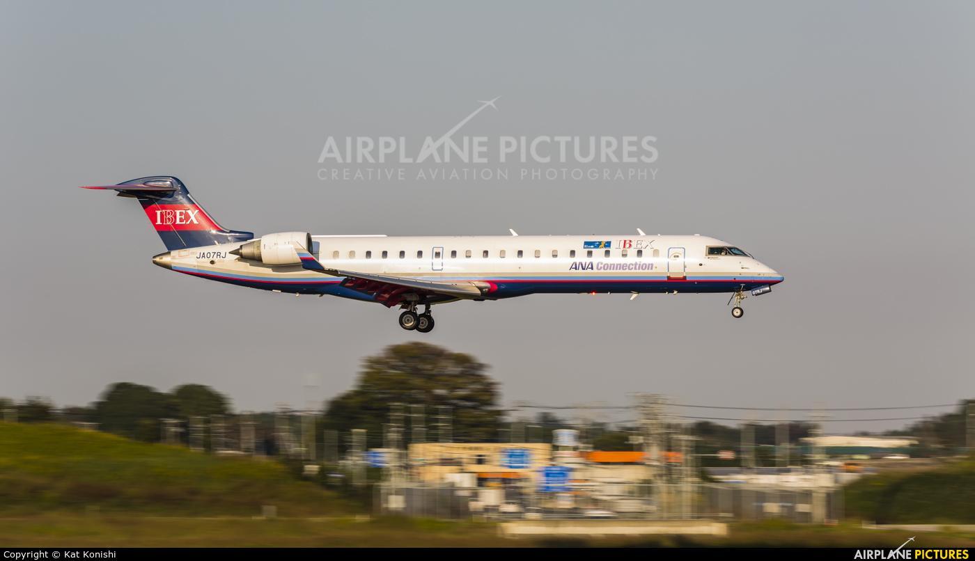 Ibex Airlines - ANA Connection JA07RJ aircraft at Tokyo - Narita Intl