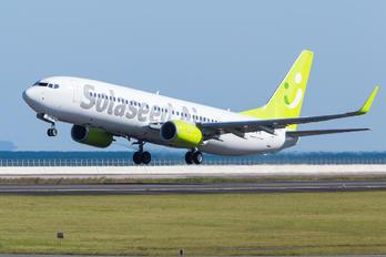 JA811X - Solaseed Air - Skynet Asia Airways Boeing 737-800