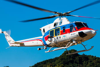 JA6817 - Japan - Ministry of Land, Infrastructure and Transport Bell 412EP