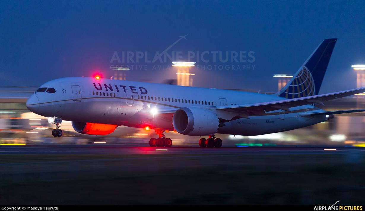 United Airlines N27901 aircraft at Tokyo - Narita Intl