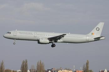 CS-TRJ - Belgium - Air Force Airbus A321
