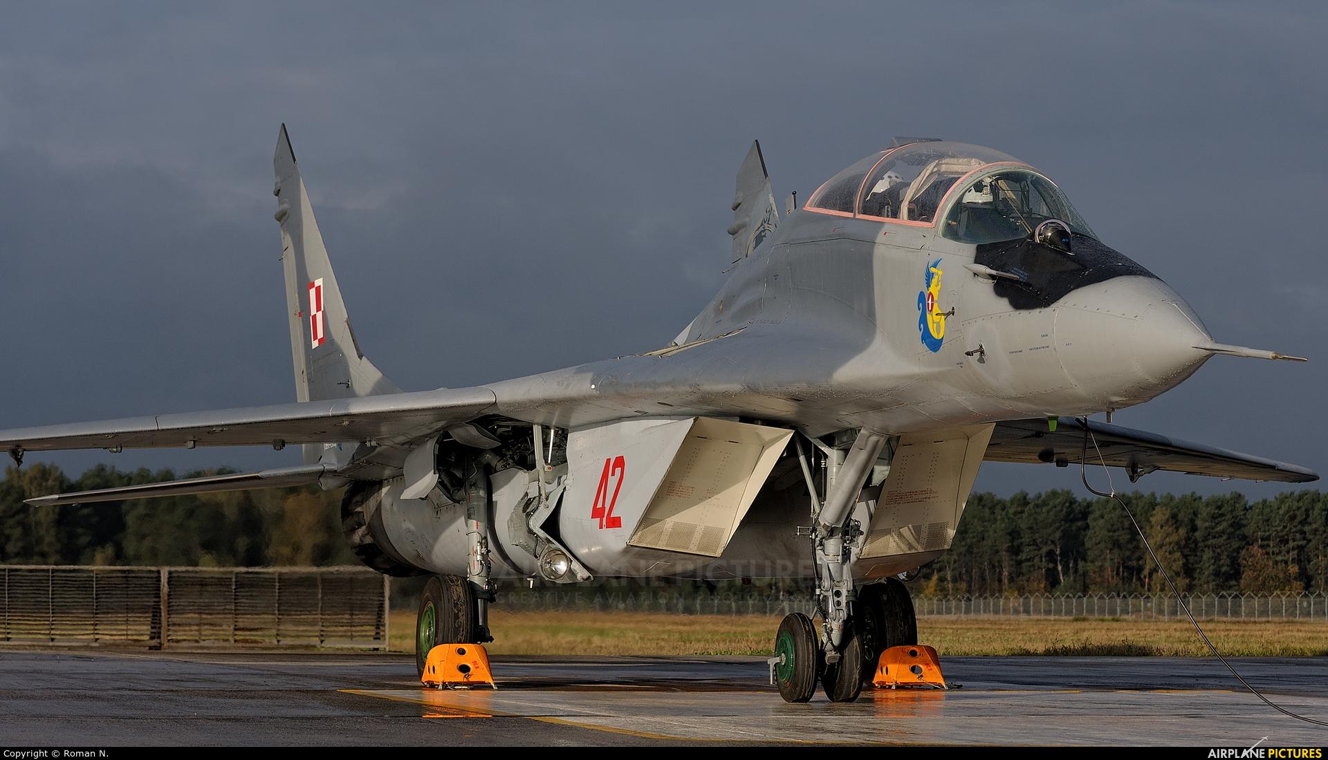 Poland - Air Force 42 aircraft at Bydgoszcz - Szwederowo